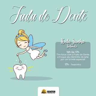 Center Shopping Rio promove o teatro infantil 'Fada do Dente'