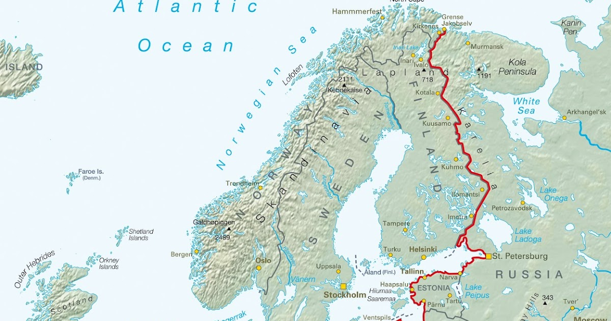 Margunn sin sykkelblogg: Jerntepperuta eller Iron Curtain ...