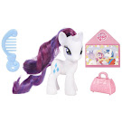 MLP Single Wave 1 with DVD Rarity Brushable Pony