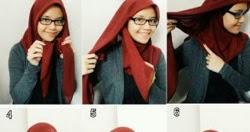 Tutorial Hijab Untuk Cewek Berkacamata