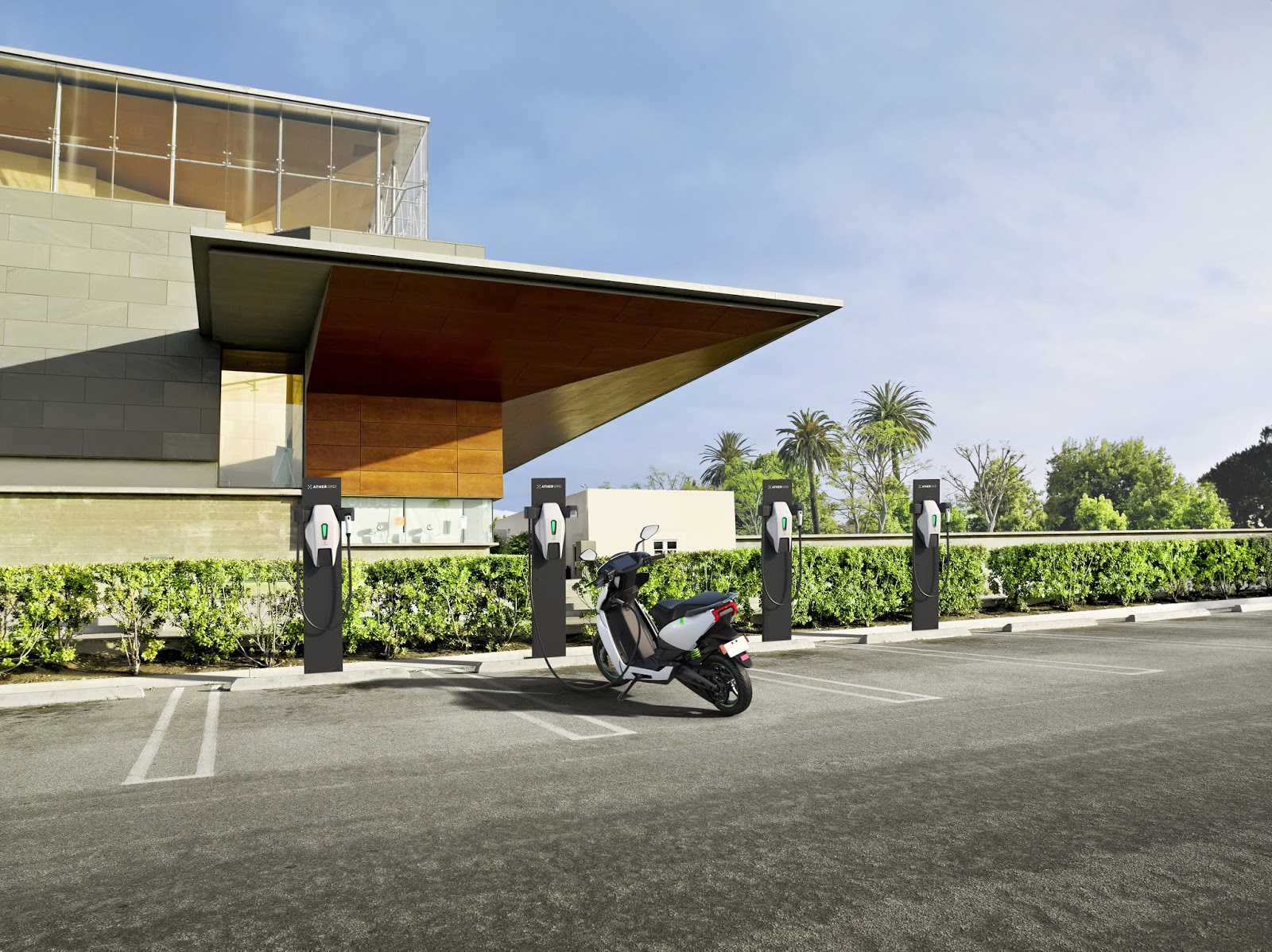 SILICON VILLAGE: Ather Energy Begins Setting-Up 50-55 Charging