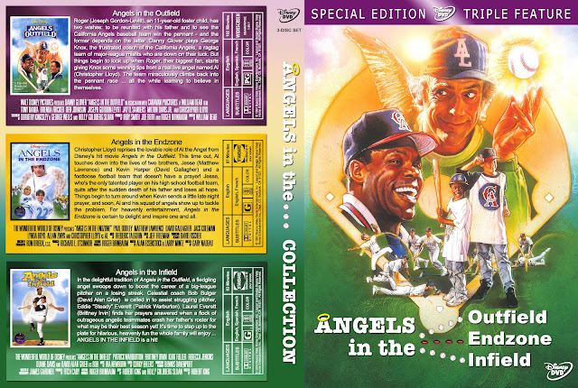 Angels In The Outfield/Endzone/Infield Collection DVD Cover