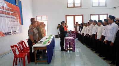 Sebanyak 213 Pengawas Tempat Pemungutan Suara diambil Sumpah/Janji Oleh Panwascam