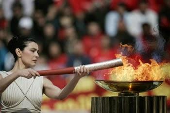 Os Jogos Olímpicos na Grécia Antiga - Tocha Olímpica
