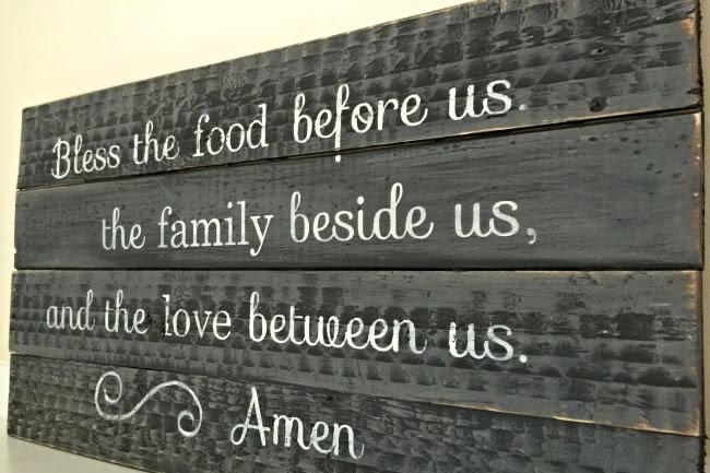 Pallet Wood Prayer Sign