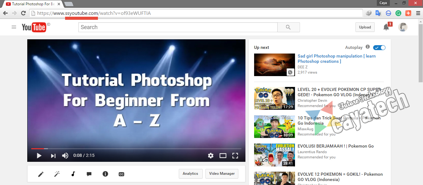 How To Download Youtube Videos Quickly Without Using Any Applications Add '  Ss'