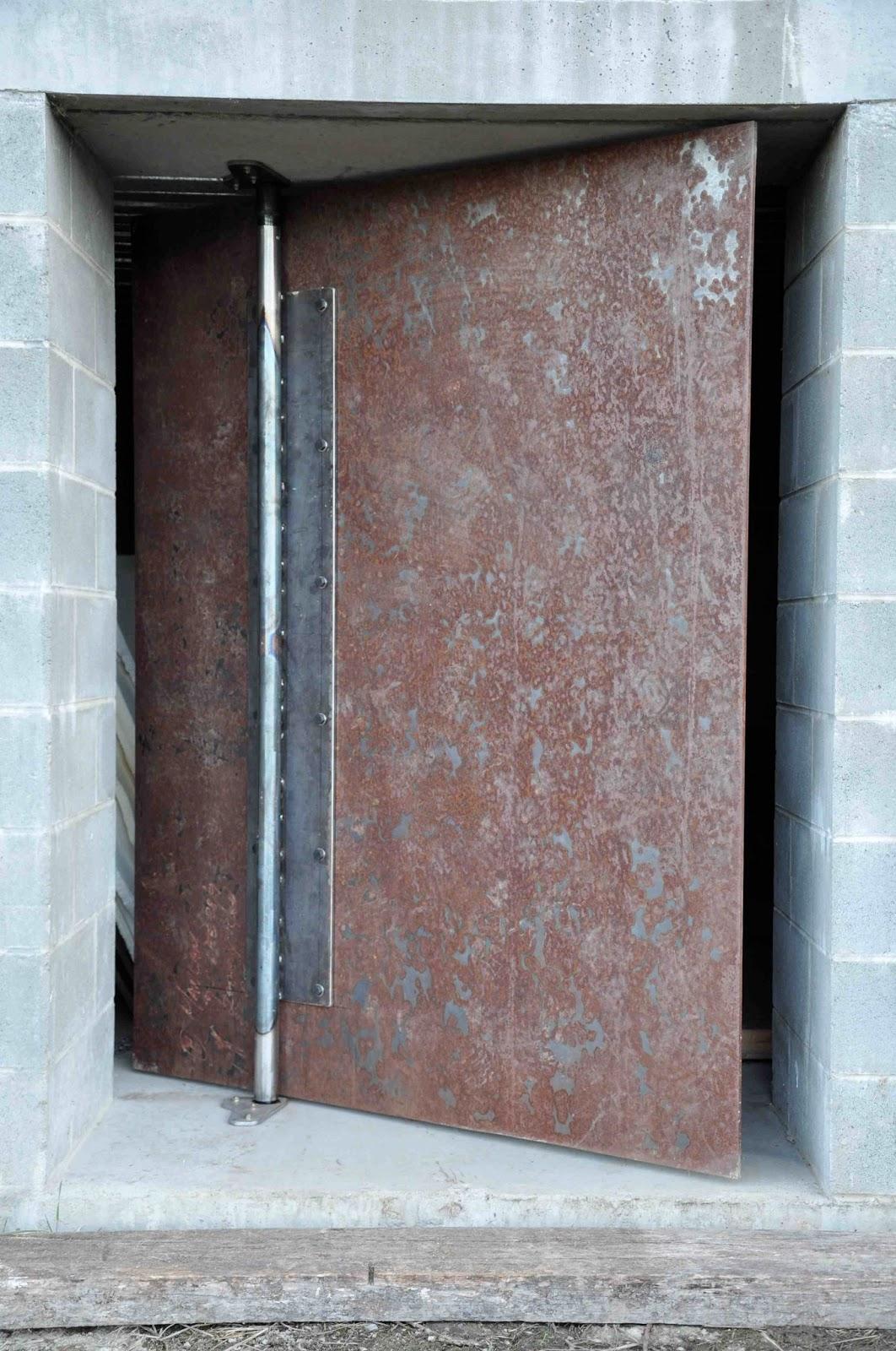 Basement Steel Door Motofotostudio