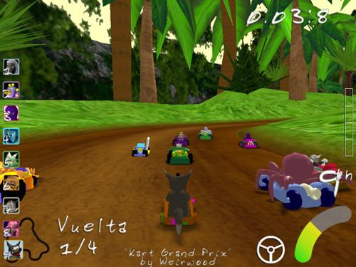 Super Tux Kart Descargar Gratis En Internet Juegos Gratis Por Internet