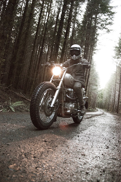 Triumph Bonneville By Red Clouds Collective Hell Kustom