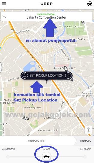 cara pesan uber, cara memesan uber, cara order uber, cara panggil uber, cara memanggil uber, cara pesan uber motor