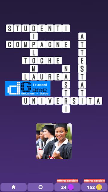 Soluzioni One Clue Crossword livello 13 schemi 6 (Cruciverba illustrato)  | Parole e foto