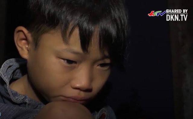 Cậu bé 9 tuổi sống một mình