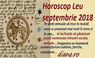 Horoscop Leu septembrie 2018