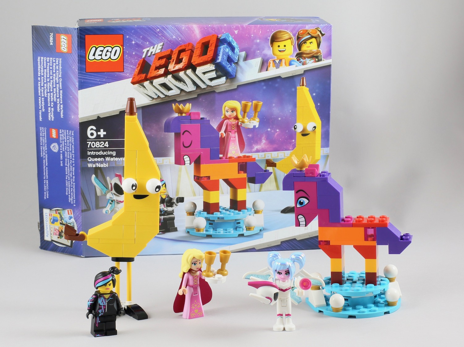 Lego Movie 2 Review 70824 Introducing Queen Watevra Wa Nabi New Elementary Lego Parts Sets And Techniques