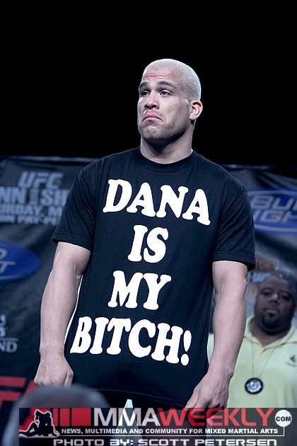 As worn by Tito Ortiz - DANA IS MY BITCH! T-shirt