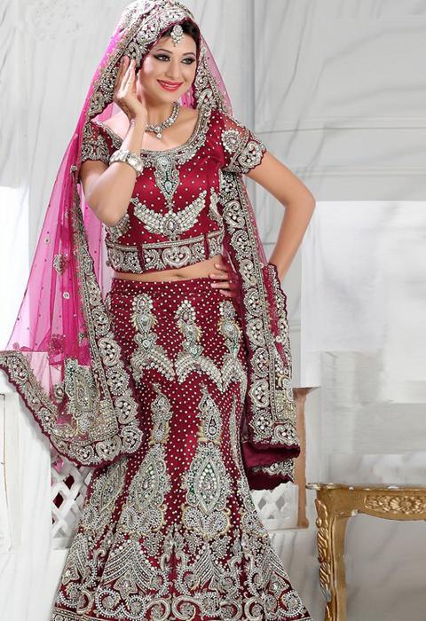 gaun pengantin india muslim