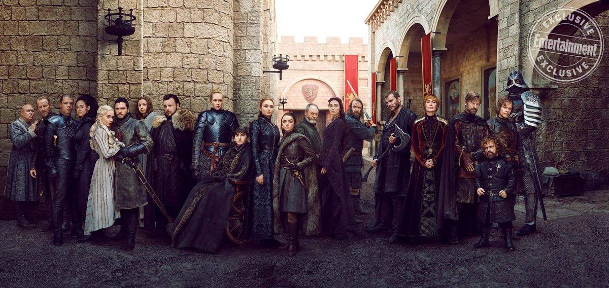 Octava y última temporada de Game of Thrones