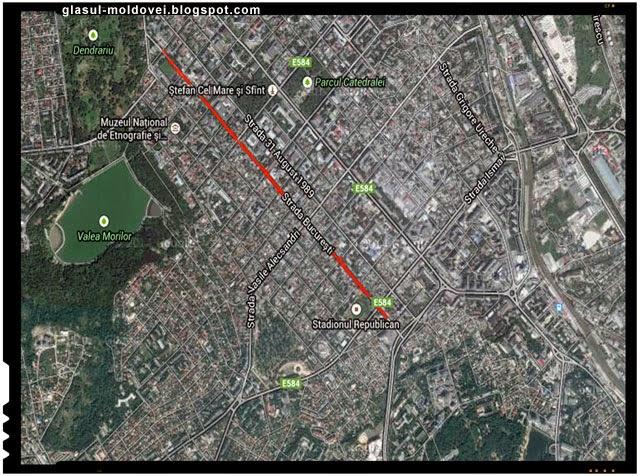 Strada Bucuresti, Chisinau [( Podol'skaia, Imperatora Nicolaia II (sec. XIX), Ion C. Brătianu (1918-1924), Bucureşti (1924-1944), apoi iarăşi Podol'skaia (1944-1970) şi până odinioară Iskra (1970-1990)]