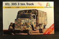 Italeri Kfz 305   3 ton truck