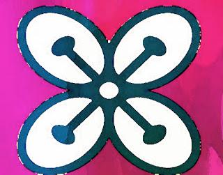 African Adinkra symbol Bese Saka