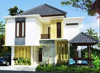 gambar rumah minimalis 2 lantai sederhana