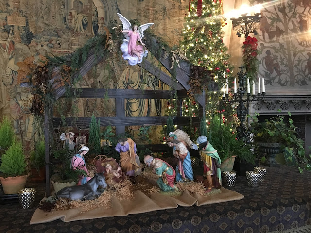 Nativity Scene at the Biltmore Tapestry Gallery