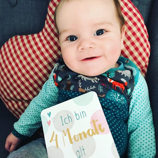 Tjelle mit 4 Monaten