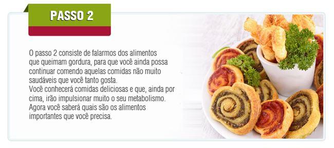 Passo 2 - Alimentos que Queimam Gordura