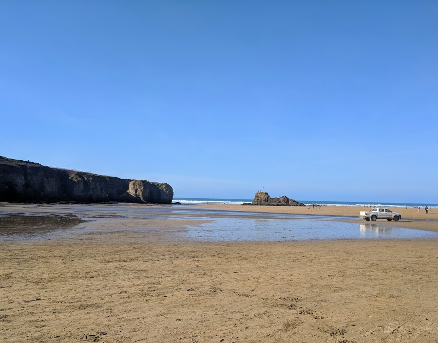 A Postcard from Perranporth Beach, Cornwall