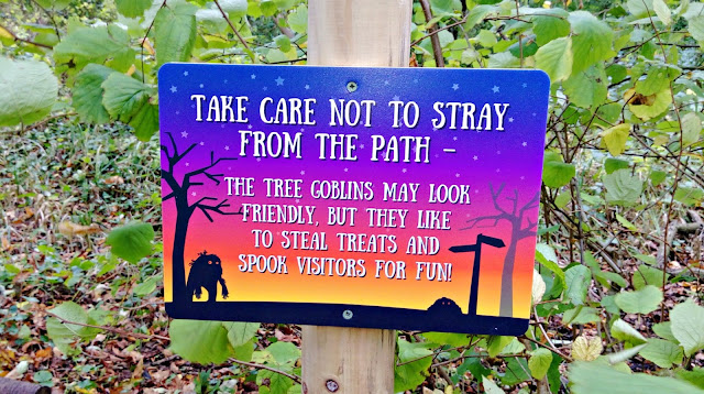 Tree Goblins sign at Wild Place
