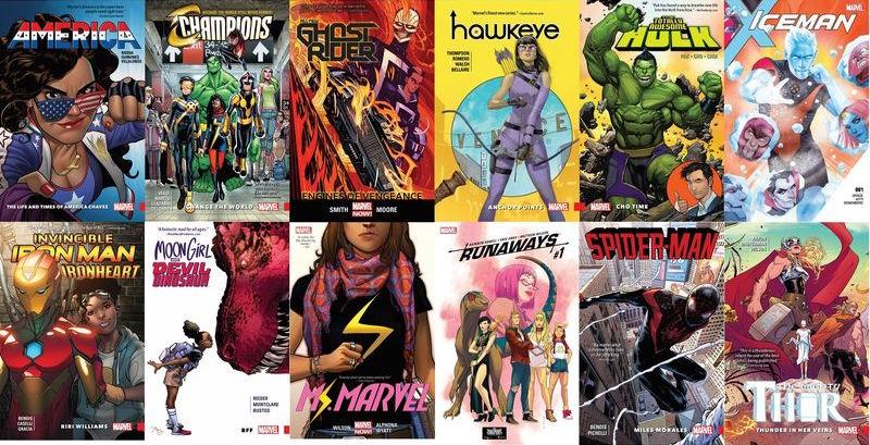 Marvel Comics serials