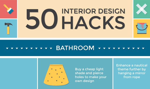50 Interior Design Hacks