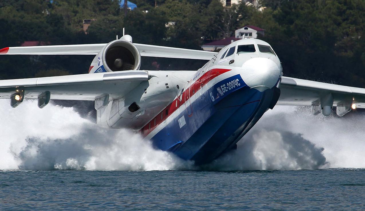 Beriev Be-200 Rusia