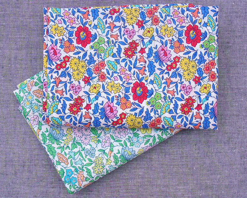 Liberty of London Tana Lawn - A Pocket Full of Memories - Favourite Flowers | © Red Pepper Quilts 2018