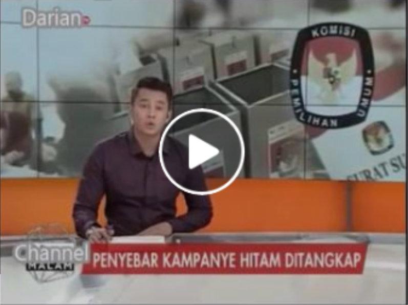 Setelah Ditangkap, Penyebar Brosur Kampanye Hitam Fitnah Anies Sandi ini Mengaku Dibayar 20juta