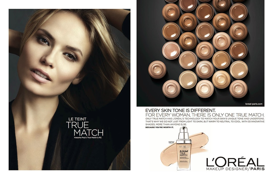 L'Oreal Paris True Match Spring/Summer 2015 Campaign