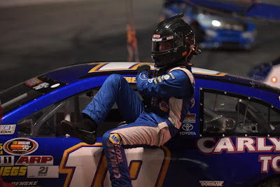 #NASCAR K&N Pro Series Rookie Derek Kraus Holds His Own at Bill McAnally Racing