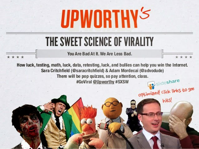 Sweet Science Of Virality từ Upworthy​