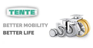 TENTE Role și roți Better Mobility. Better Life.