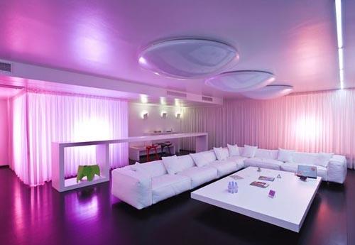 Purple Living Room Ideas: Purple Interior Designs Living Room