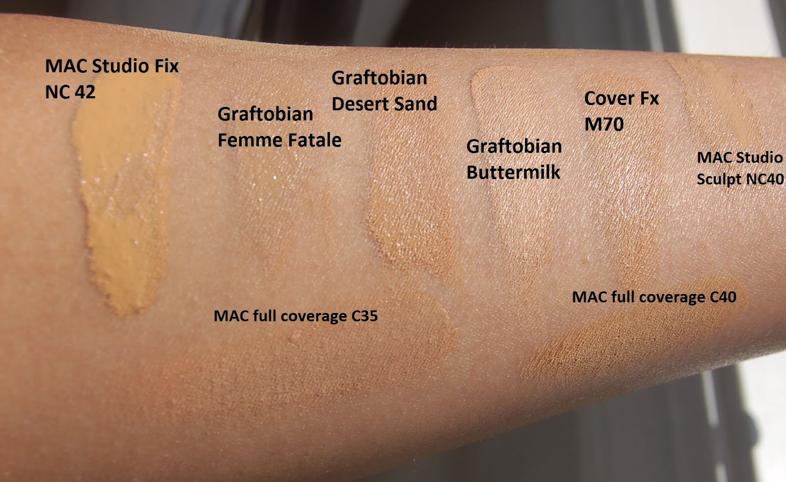 An Eye Makeup Addicts Blog Swatches Graftobian Mehron