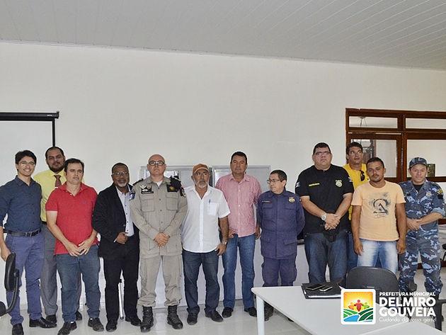 Cerimônia de posse dos membros do Conselho Municipal de Segurança Pública de Delmiro Gouveia  é realizada