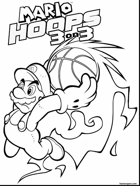 Excellent Mario Printable Coloring Pages With Coloring Pages And  Coloring Pages Printable Free