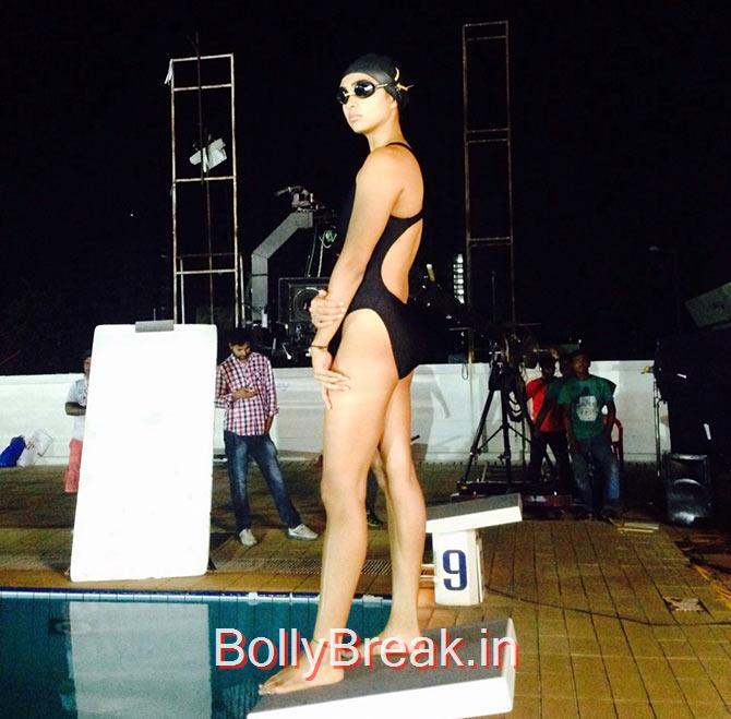 , Pooja Banerjee Bikini Pics - Swim Team