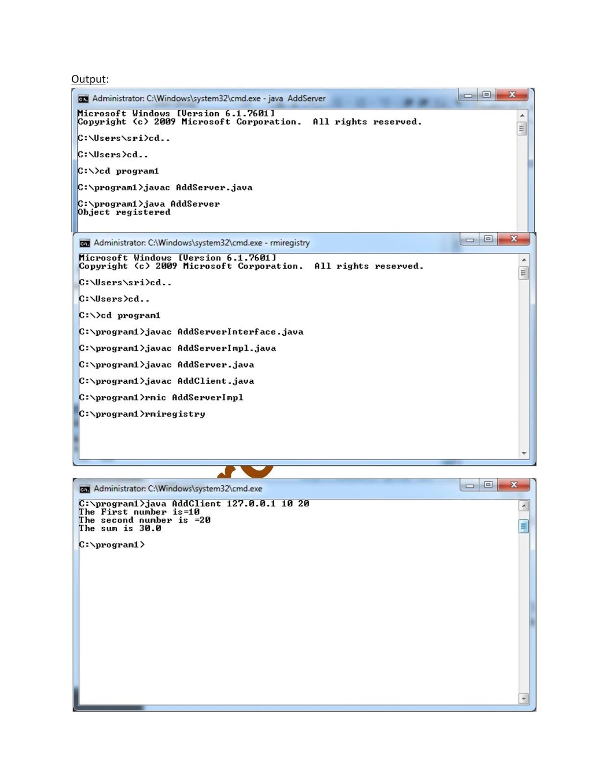 Jmx java tutorial choice image any tutorial examples java rmi tutorial pdf image collections any tutorial examples rmi java tutorial choice image any tutorial baditri Images