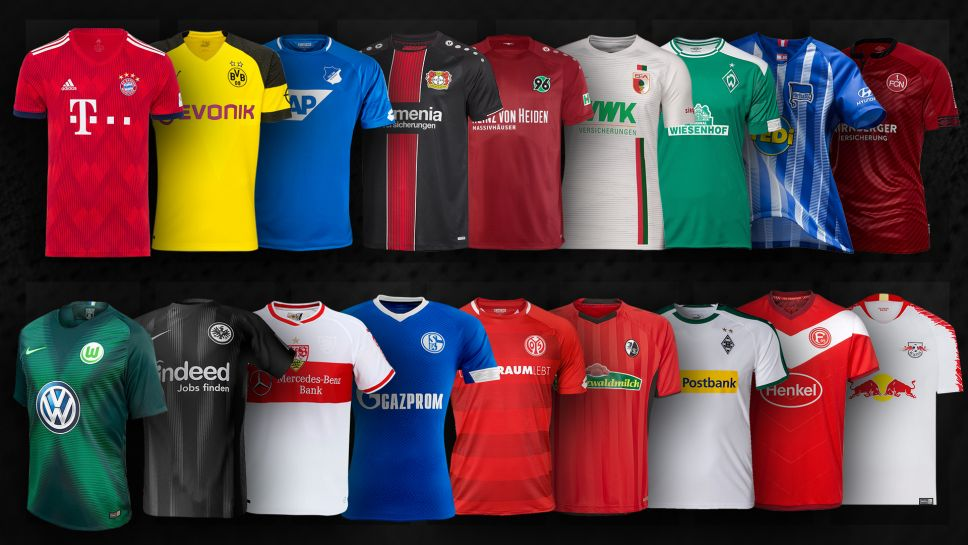 ... of the 2018-2019 Bundesliga season with an Adidas team as the Three  Stripes make the jerseys for just one team in the 2018-2019 1. Bundesliga  campaign. 258397387