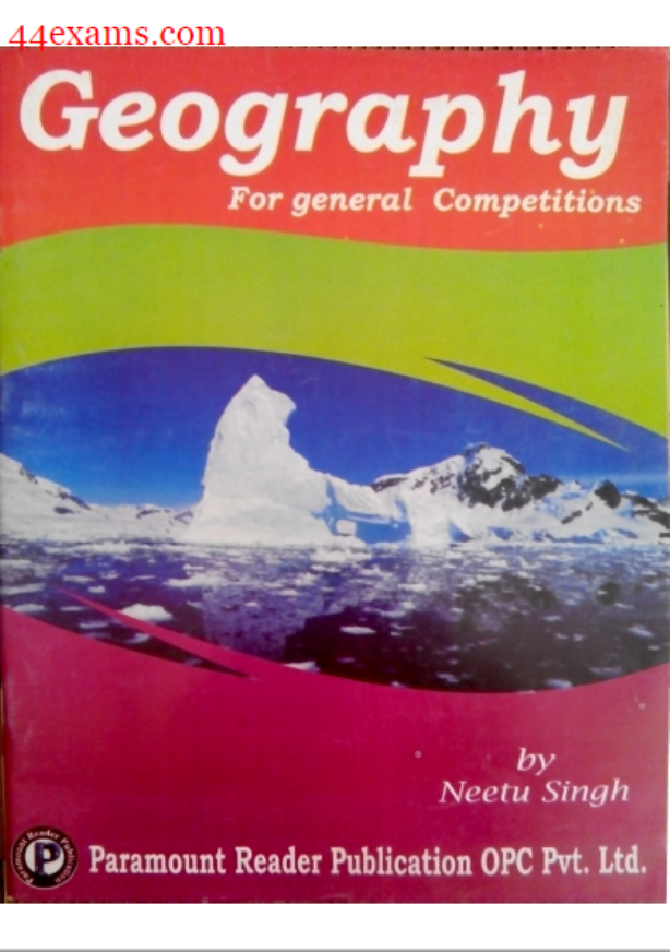 Paramount Geography : For All Competitive Exam PDF Book