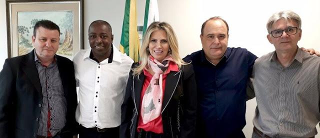 Maurílio Viana mantém agenda com a vice-governadora do Paraná