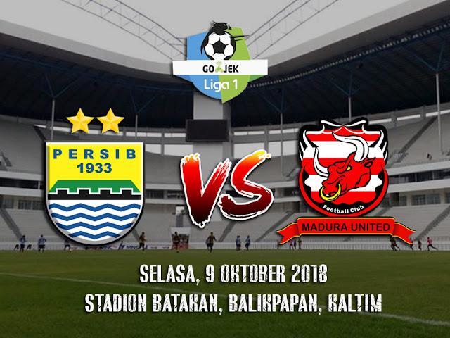 Prediksi Persib Bandung vs Madura United 9 Oktober 2018 Go-Jek Indonesia Liga 1 Pukul 18.30 WIB