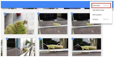 Cara download Foto dari Google Foto ke penyimpanan telepon lokal Anda